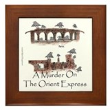 Agatha christie Framed Tiles