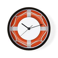 Life Preserver Wall Clock