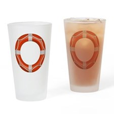 Life Preserver Drinking Glass