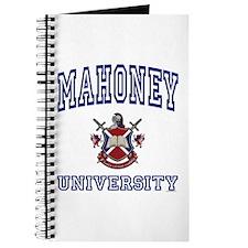 MAHONEY University Journal