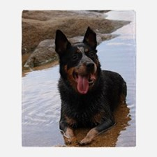 ACD at the Beach Throw Blanket