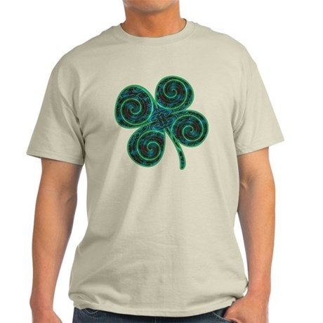 Psychodelic Shamrock Light T-Shirt