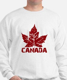 canada-maple-leaf Sweatshirt