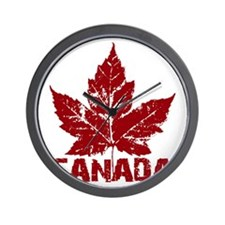 canada-maple-leaf Wall Clock