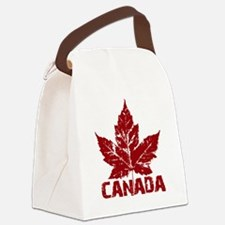 canada-maple-leaf Canvas Lunch Bag