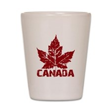 canada-maple-leaf Shot Glass