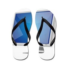 Computer Monitor Flip Flops