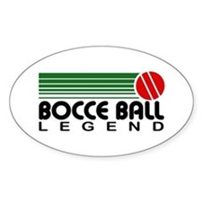 Bocce Ball Legend Decal