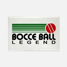 Bocce Ball Legend Rectangle Magnet