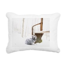 11x17_printfatssnow Rectangular Canvas Pillow