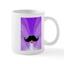 Speak LOVE out loud moustache b Mugs