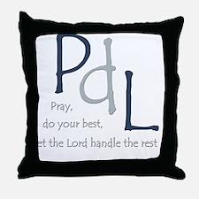 PdL Throw Pillow