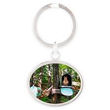 mail16x20_print Oval Keychain