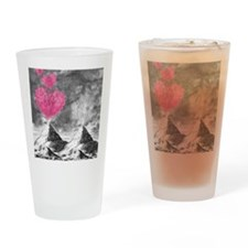 volcanoes image Drinking Glass