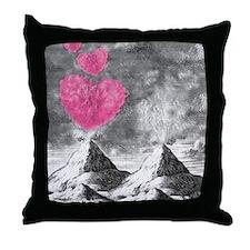 volcanoes image Throw Pillow