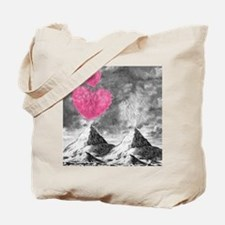 volcanoes image Tote Bag
