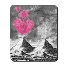 volcanoes image Mousepad