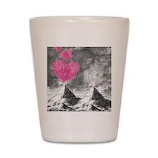 volcanoes image Shot Glass