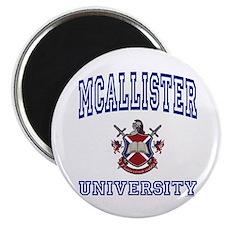 MCALLISTER University Magnet