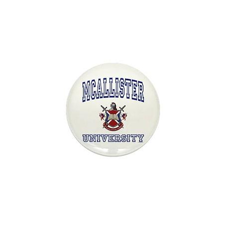 MCALLISTER University Mini Button (100 pack)
