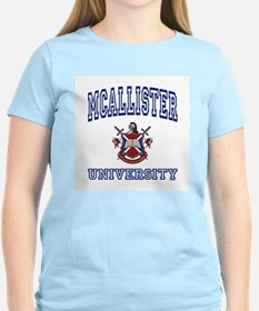 MCALLISTER University Women's Pink T-Shirt
