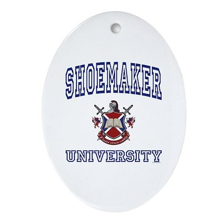 SHOEMAKER University Oval Ornament