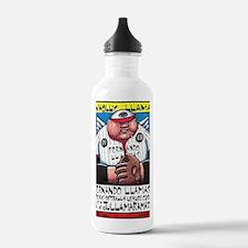 wholly_llama Water Bottle