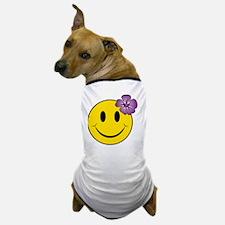Happy Hawaii Dog T-Shirt