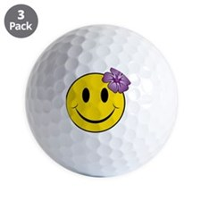 Happy Hawaii Golf Ball