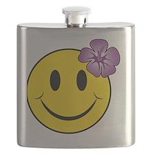 Happy Hawaii Flask