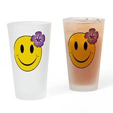 Happy Hawaii Drinking Glass