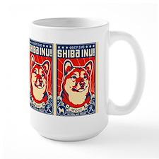 Obey the SHIBA INU! Coffee Mugs