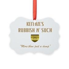 Keitha dump II trans Ornament