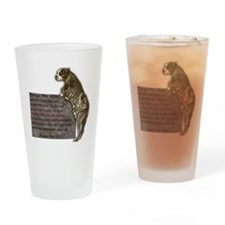 3-SgtStubby Drinking Glass