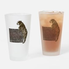 3-SgtStubby Drinking Glass