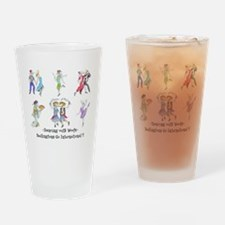 Shirts-light-Dancing Bedlies Drinking Glass