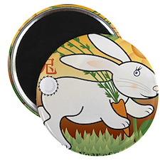 RabbitTshirt Magnet