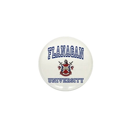FLANAGAN University Mini Button