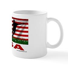 usa rectangle sticker Mug