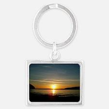 sunset2 Landscape Keychain