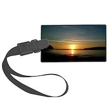 sunset2 Luggage Tag