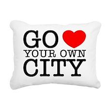 loveurcity.gif Rectangular Canvas Pillow