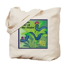SnakeTshirt Tote Bag
