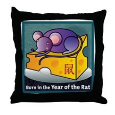 RatTshirt Throw Pillow