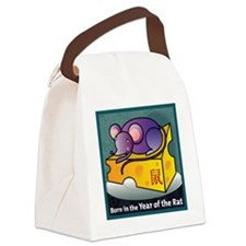 RatTshirt Canvas Lunch Bag