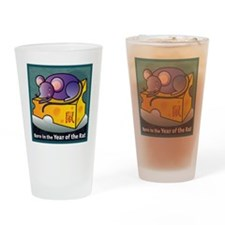 RatTshirt Drinking Glass