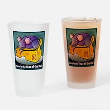 RatTshirt Drinking Glass