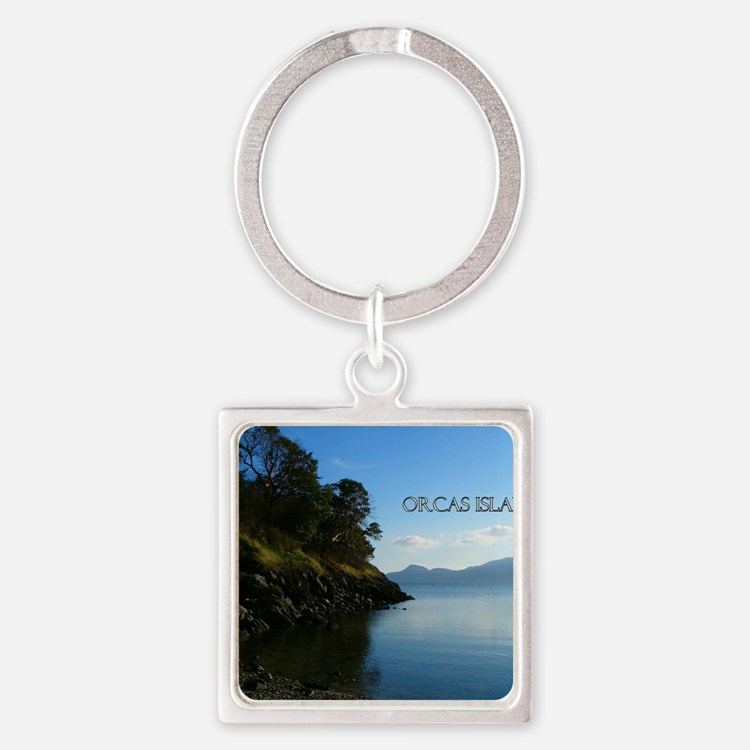 eastsound4 Square Keychain