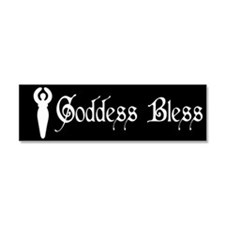 Goddess Car Magnet 10 x 3