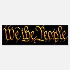 We The People Mug Bumper Bumper Sticker